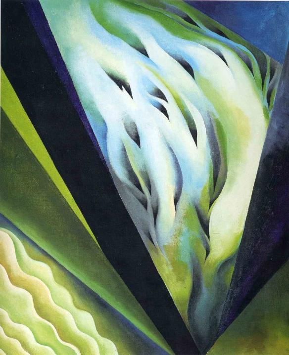 16 Georgia O'Keeffe Blue and Green Music